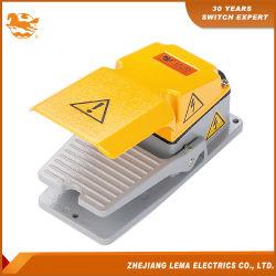Interruptor de control de pie de la caja de metal LF-31