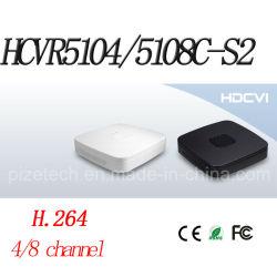 4/8CH Tribrid 720p-PRO Smart Hdcvi 1u DVR {Hcvr5104/5108C-S2}