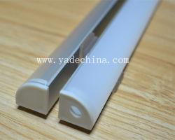 Extrusions en aluminium de coin/cornière 90degree DEL pour des bandes du câble DEL