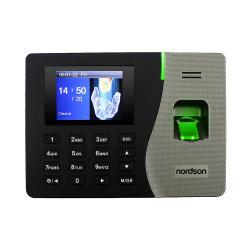 Gravação em tempo biométrico com Sensor biométrico com gravador de auto-atendimento e acesso fácil de usar software de presenças