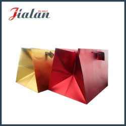 Mate metálico de alta calidad Bolsa de compras de papel de lujo
