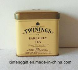 Le thé de l'étain boîte rectangulaire avec des prix moins cher
