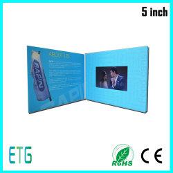 5 pouces écran IPS/HD vidéo des cartes de voeux pour le meilleur ce qui concerne
