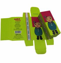 A impressão dos desenhos animados Kids esmalte de unha caixa de embalagem