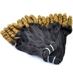 Arbeid Haar 100% Menselijke Ombre Haargroei Haarweave