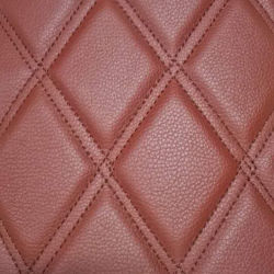 Car Floor Mat를 위한 다이아몬드 Pattern PVC Synthetic Leather