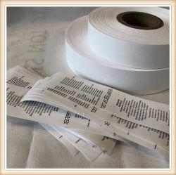 Хорошее качество нейлон из тафты ленты с этикетки рулон ткани