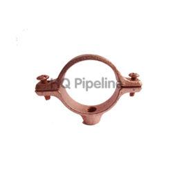 Углеродистая сталь медным покрытием вешалку для разрезного кольца