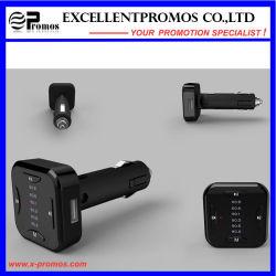 Novo Design 2016 Transmissor FM Bluetooth Handsfree com duas portas USB Carregador Veicular
