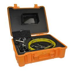 パイプライン掘削用検査カメラ、 17mm 試験用ケーブルレンズ、下水管検査用、 CCTV カメラ