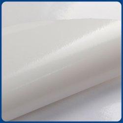 Autocolante com revestimento de PVC Vinil Self-Adhesive cola branca
