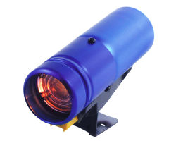 PRO rpm de la luz de cambio de la Plata caso LED rojo (7011SCL)