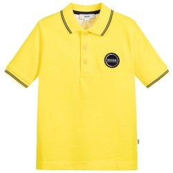 Customized Kids 100% algodão camisa Polo com logotipo Bordado