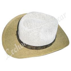 Chapeau de cow-boy de paille du godet (LB15024)