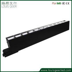 التشغيل الجديد لنظام مغناطيس التتبع القابل للتخفيت الأسود ضوء LED بثريا الجنزير المغناطيسي
