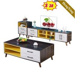 高品質のリビングルーム家具、テレビスタンド、木製側 収納キャビネットコーヒーテーブル( UL-20N0445 )