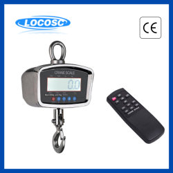 Suspension de l'OCS-L de pesage électroniques numériques sans fil la pendaison l'échelle de grue