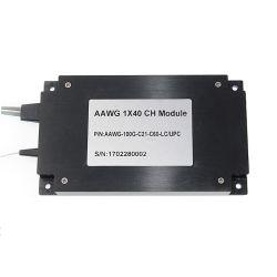 Canal de type gaussien 40 100GHz athermiques AWG module DWDM