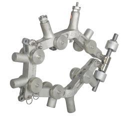 Большой диаметр вращающегося пылесборника пластиковый ПВХ и ПЭ трубы разрезания трубок