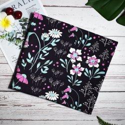 사용자 정의 디지털 인쇄 꽃 패턴 섬유 사용자 정의 인쇄 면 스판덱스 키즈 의류