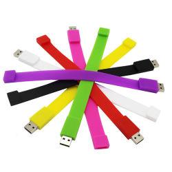 Pulseira de silicone com bracelete U proteção ambiental do disco SSD Cartão SD Cartão de Memória Flash USB Pen Drive USB