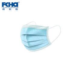 Maschera di protezione medica a gettare medica di Earloop di 3 strati (non sterile)