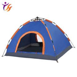 접이식 싱글 레이어 경량 자동 캠핑 텐트 방수