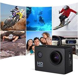 Les fabricants de caméras 1080P 30fps Action étanche pour caméscope 12MP