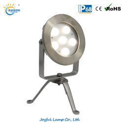 IP68 ضوء LED Pond بقوة 12 واط مقاومة للماء بقوة 18 واط مصباح LED خارجي، ضوء طبيعي، تحت الماء، مصباح ثلاثي القوائم مناسب لـ حمامات السباحة نوافير