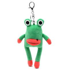 Barato Creative personalizado Peluches Llavero muñeco de peluche Frogman
