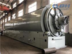 إطارات مطاطية مستخدمة متقدمة لإعادة تدوير إعادة تدوير إعادة تدوير زيت إعادة تدوير مصنع تقطير الزيت