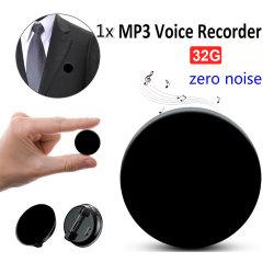 Registratore vocale professionale HD riduzione del rumore lettore MP3 Hi-Fi digitale Registratore audio 68h in standby