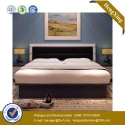 Diseño de lujo baratos cama de madera maciza con cajón de la base de la tabla