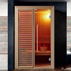 2 Pessoa Sauna chuveiro sauna combinação configurada