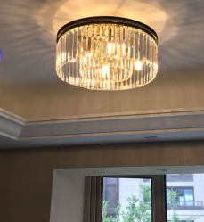 DECKEN-Leuchter-Beleuchtung des Dekor-Haupt-LED Kristall