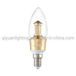 Usine de Ningbo Vente directe de haute qualité Candle Light LED E14 pour Lustre