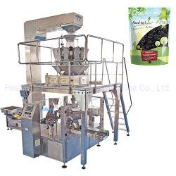 Prix Nouvelles rotatif automatique Gummi Stand up Sac compte tenu de l'emballage pour les petites entreprises de la machine