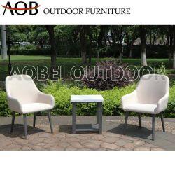 현대 옥외 안뜰 정원 고정되는 가정 호텔 아파트 테라스 발코니 직물 의자 대리석 테이블 가구