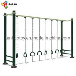 Стальные открытый спортзал горизонтальной панели оборудование для фитнеса