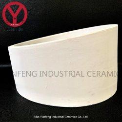 Новые поступления высшего износостойкости глинозема керамические трубы с насечками втулки с высокой производительностью