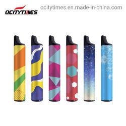 Cheio de óleo Sal de nicotina dos cigarros electrónicos descartáveis Dispositivo Pod