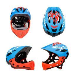 Vente chaude Kids Bike/casque de vélo plein visage Casque de patinage