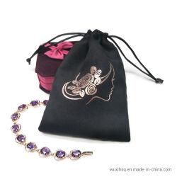 Custom шелк велюр печатной платы бархат украшения кулиской подарочной упаковки Чехол Bag