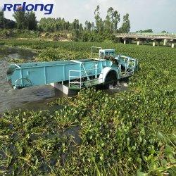 Duckweeds Fuel-Efficient com Extrator de plantas daninhas Plantas Aquáticas Navio de remoção