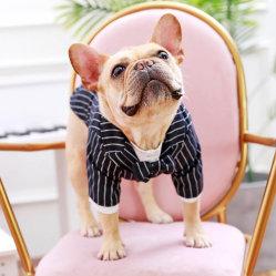 صنع وفقا لطلب الزّبون عمليّة بيع حارّ نابض فصل صيف [ستريبد] يطبع دعوى أسلوب نمط كبيرة كلب ملابس محبوبة ملابس