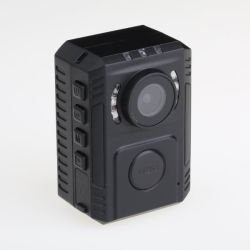 가득 차있는 HD 차 DVR 경찰 바디 사진기 2 거치 방법 법의 집행 기록병