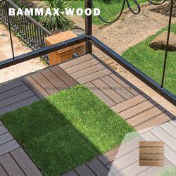 الجودة والكمية مضمونة WPC الخشب البلاستيك سطح الشرفة الأرضية السعر في الخارج، تجانب المنصة