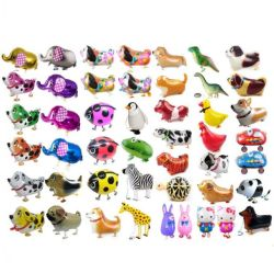2020 Buen Precio una buena calidad de los animales a pie de la lámina de Pet de globos (aire inflables juguetes de niños de la lámina de caminar, andar mascota globos)