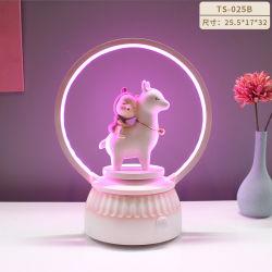 Innenbeleuchtung, Kleine Nachtlampe, Kreative Schlafzimmer Ornamente, Kunstharz Tischlampe
