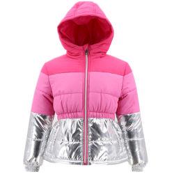 Großhandelsform-kleidet koreanische fantastische Entwerfer-Winterwindbreaker-Kleid-Kleidung lange Baumwolle aufgefüllten Umhüllungen-Mantel für Kind-Kind-jugendlich junges Baby-nette Mädchen